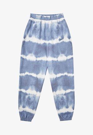 Spodnie treningowe - mottled blue