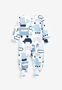 Next - 5 PACK PRINTED  - Sleep suit - blue - 1