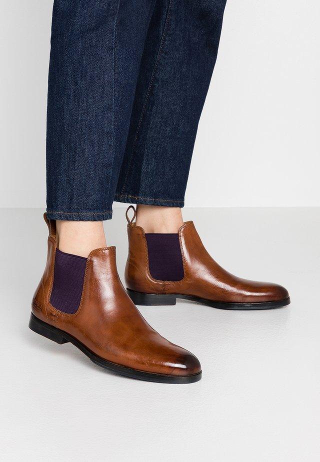 SUSAN - Boots à talons - wood