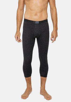 3/4 LANG MIT EINGRIFF - Boxer shorts - schwarz