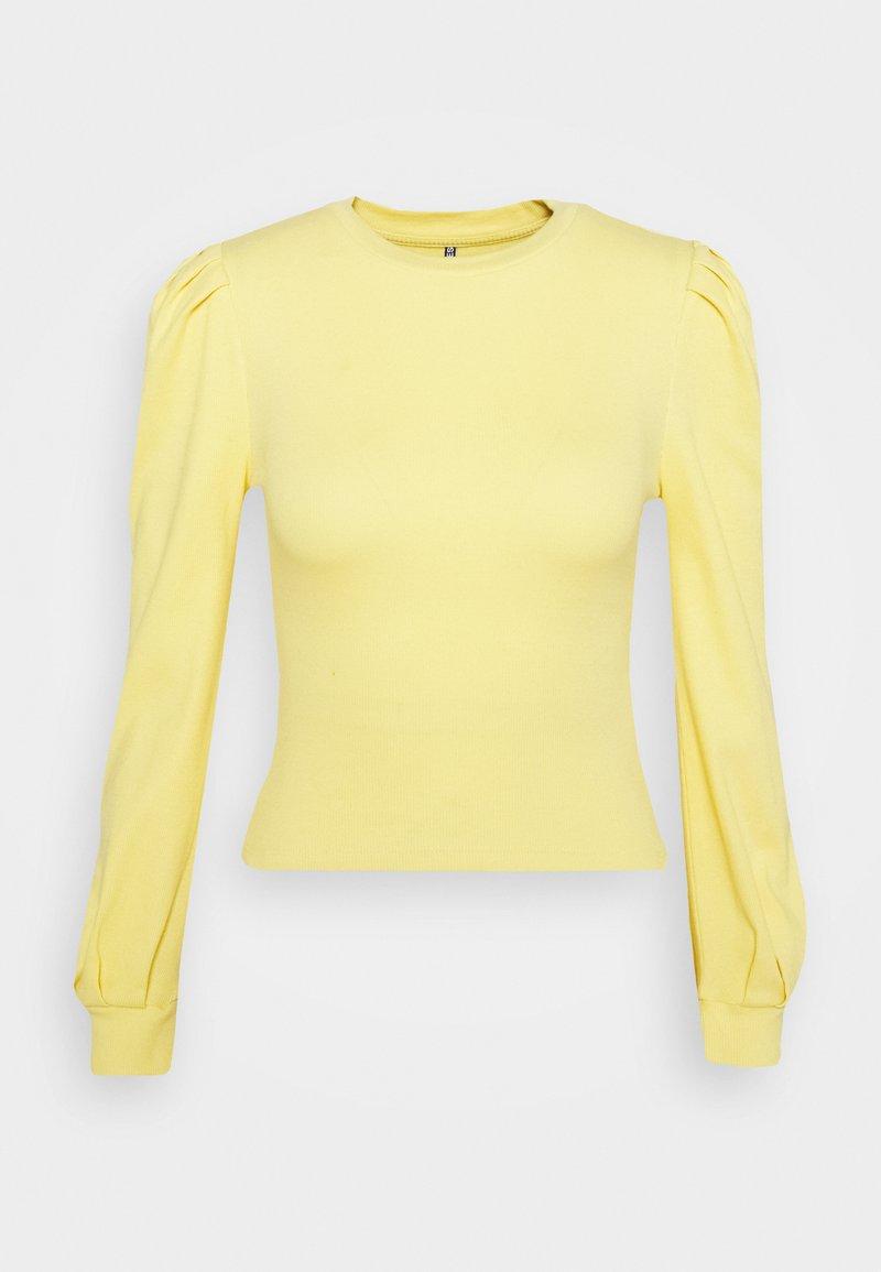 Pieces Petite PCNANNA - Langarmshirt - dusky citron/hellgelb VoiMXA