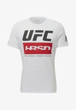 UFC FIGHT WEEK T-SHIRT - Print T-shirt - white