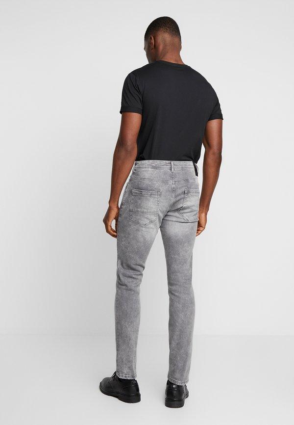Cars Jeans DOUGLAS - Jeansy Straight Leg - grey used/szary denim Odzież Męska BCEL