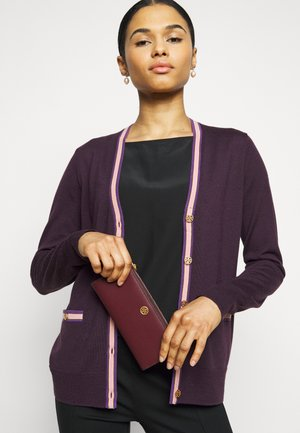 WALKER ZIP SLIM WALLET - Wallet - claret