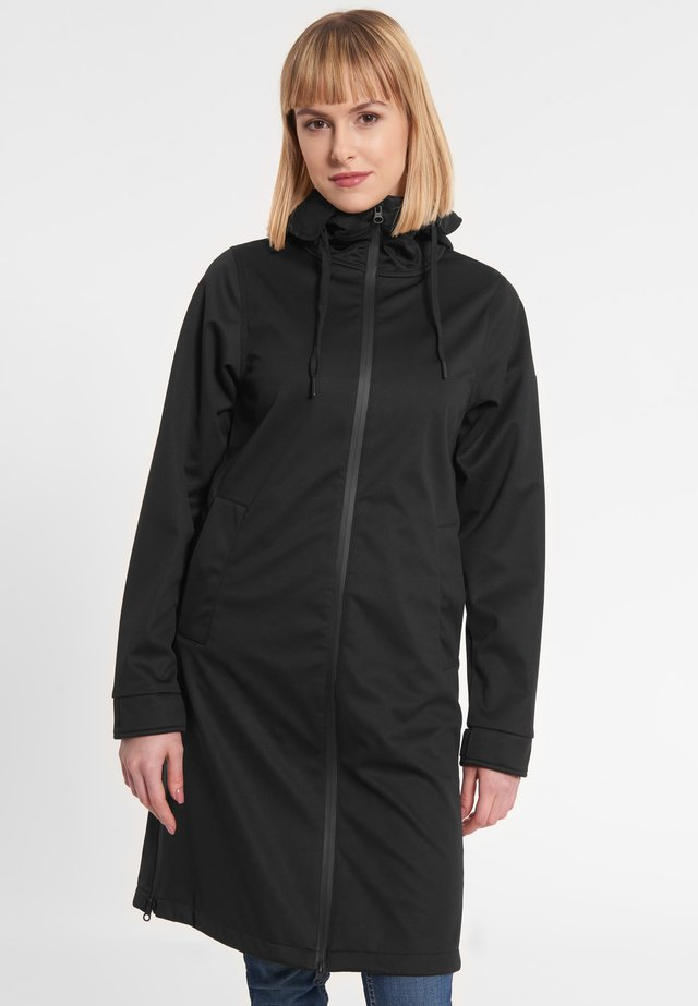 COLONSAY - Short coat - black