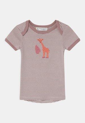TILLY BABY  - Print T-shirt - mauve