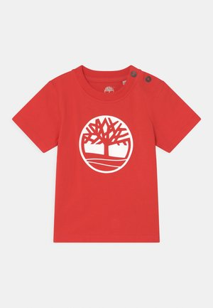 SHORT SLEEVES  - T-shirt con stampa - red
