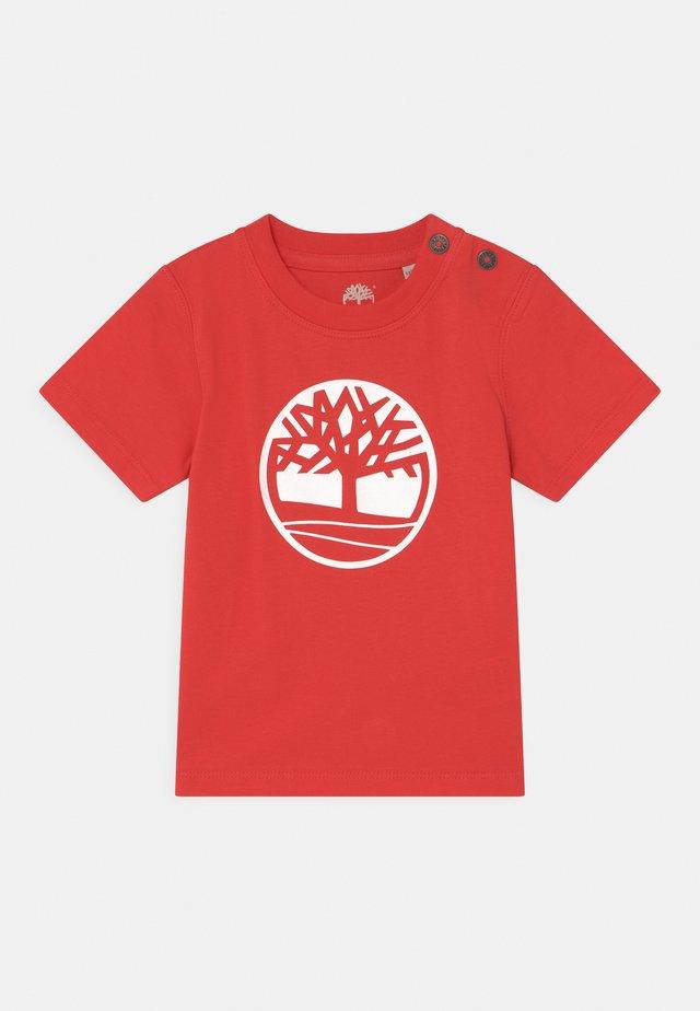 SHORT SLEEVES  - Print T-shirt - red