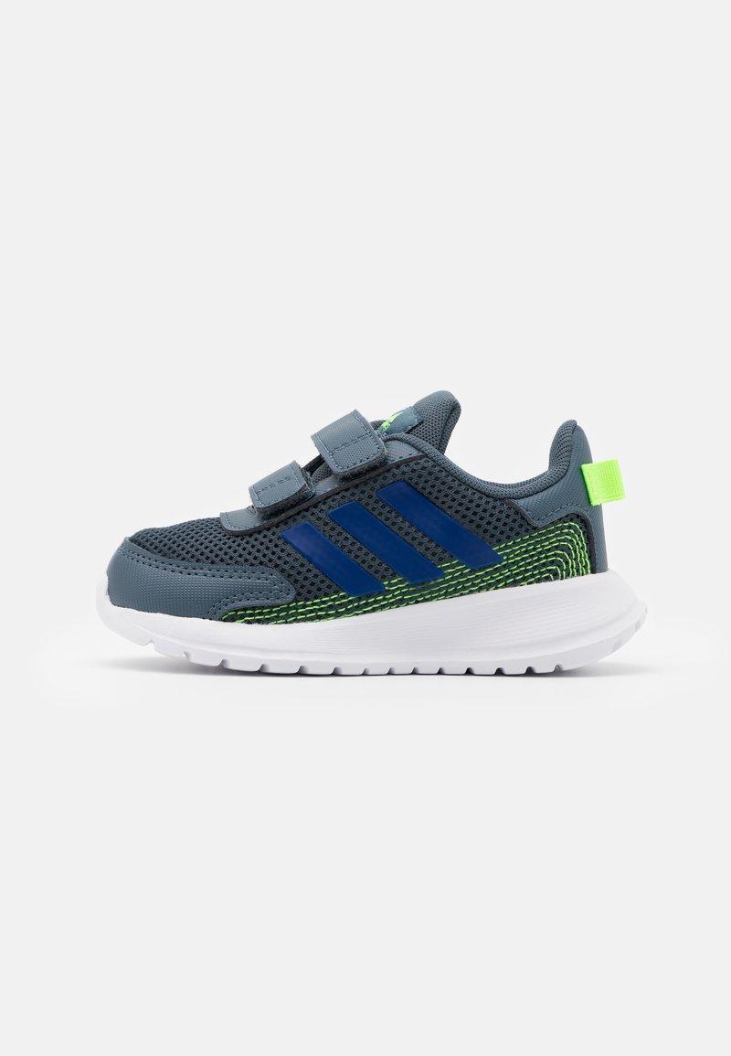 adidas Performance - TENSAUR RUN UNISEX - Neutral running shoes - legacy blue/team royal blue/signal green
