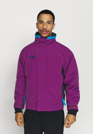 BUGABOO 1986 INTERCHANGE 2 IN 1 JACKET - Outdoor jacket - plum/black/fjord blue