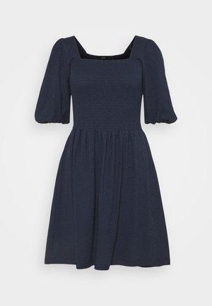 VMALINA SHORT SMOCK DRESS - Jersey dress - navy blazer