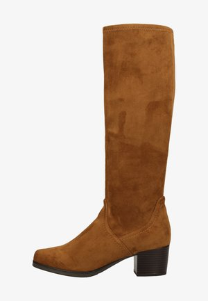 Boots - cognac stretch 364