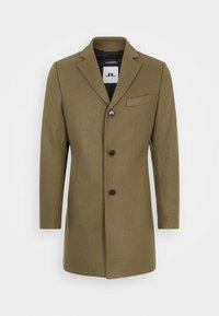 WOLGER COMPACT MELTON COAT - Klasický kabát - moss green