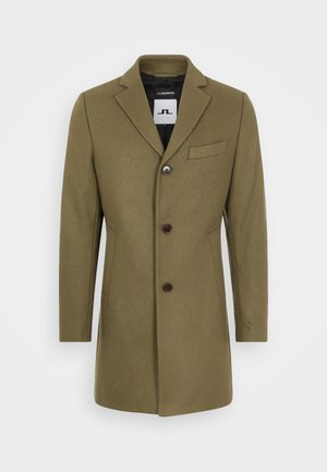 WOLGER COMPACT MELTON COAT - Kappa / rock - moss green