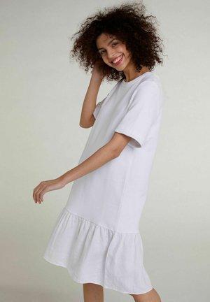 Korte jurk - optic white