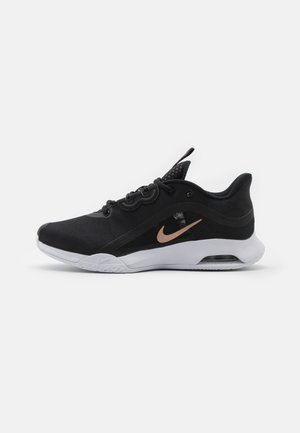 AIR MAX VOLLEY - Allcourt tennissko - black/metallic red bronze/white