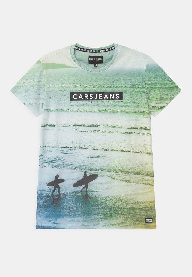 SIAD - Print T-shirt - light green