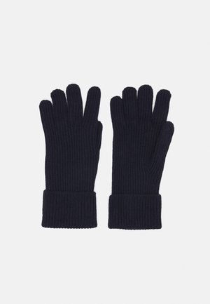 CASHMERE GLOVES UNISEX - Handschoenen - navy