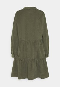 Marc O'Polo DENIM - DRESS GATHERED SKIRT - Day dress - utility olive - 1