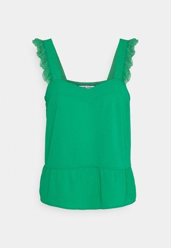SUZANNE BRET - Top - vert agathe
