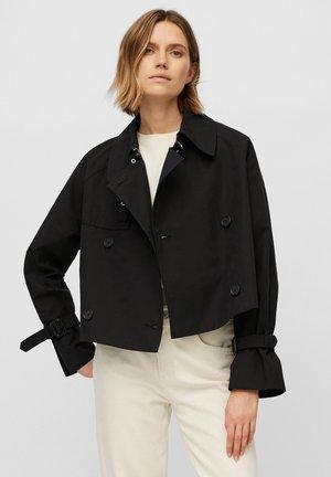MIT WASSERABWEISENDER OBERFLÄCH - Outdoor jacket - black
