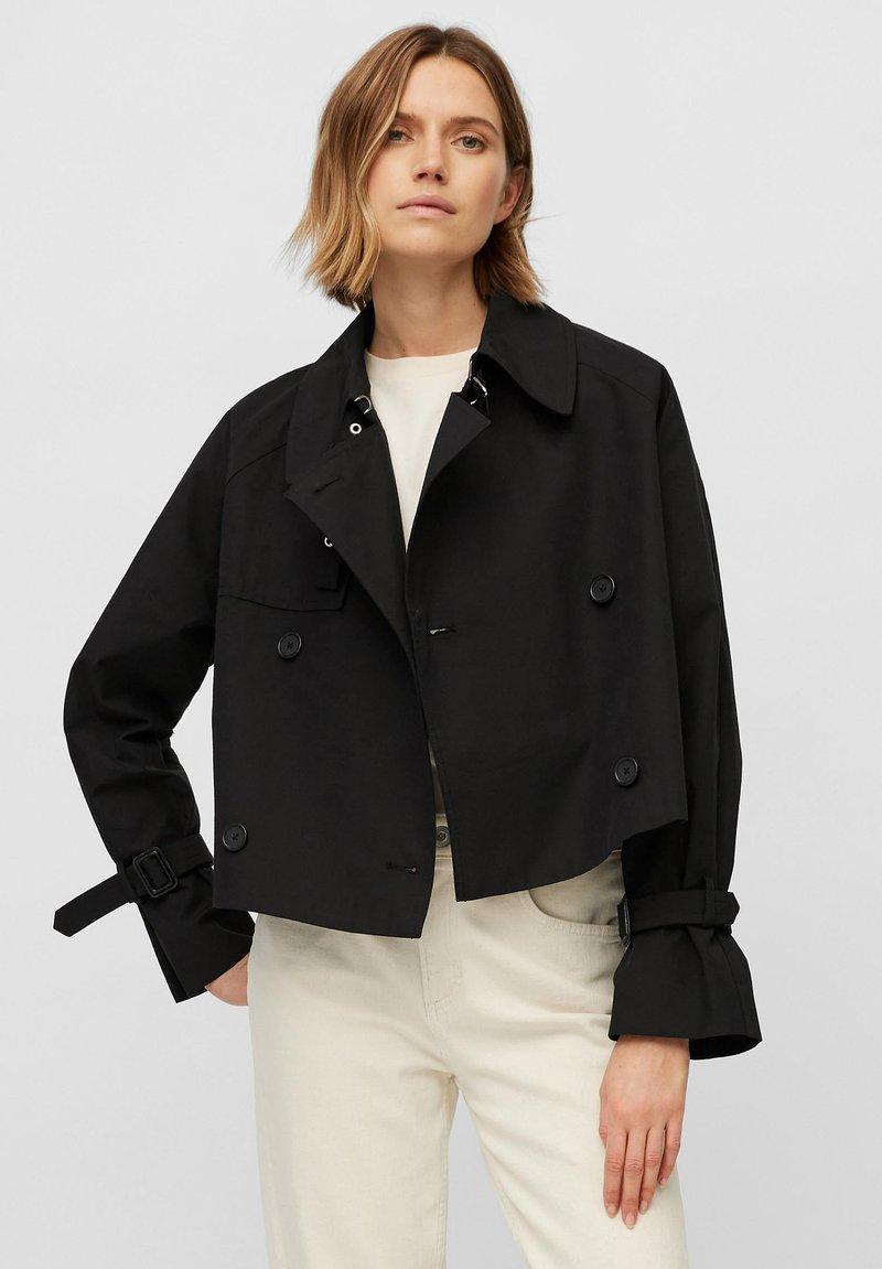 Marc O'Polo - MIT WASSERABWEISENDER OBERFLÄCH - Outdoor jacket - black