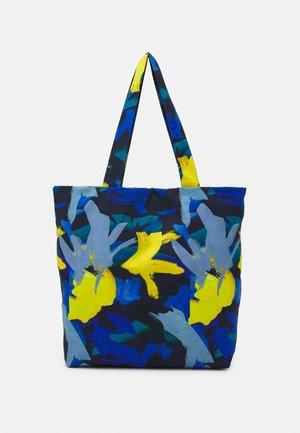 TOTE BAG M - Velká kabelka - multicoloured/blue
