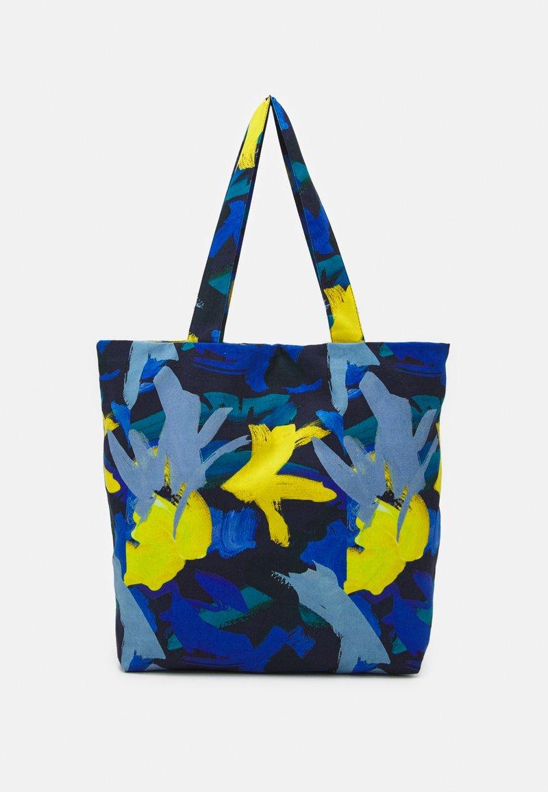 STUDIO ID - TOTE BAG M - Tote bag - multicoloured/blue