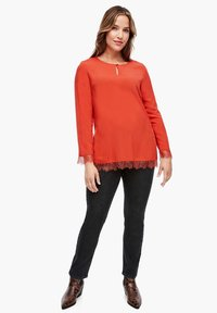Triangle - Tunic - pumpkin orange