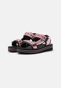 Versace Jeans Couture - Platform sandals - rose - 2