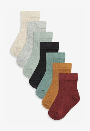 7 PACK - Socks - brown