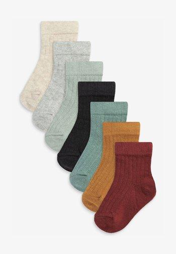 7 PACK - Socks - brown