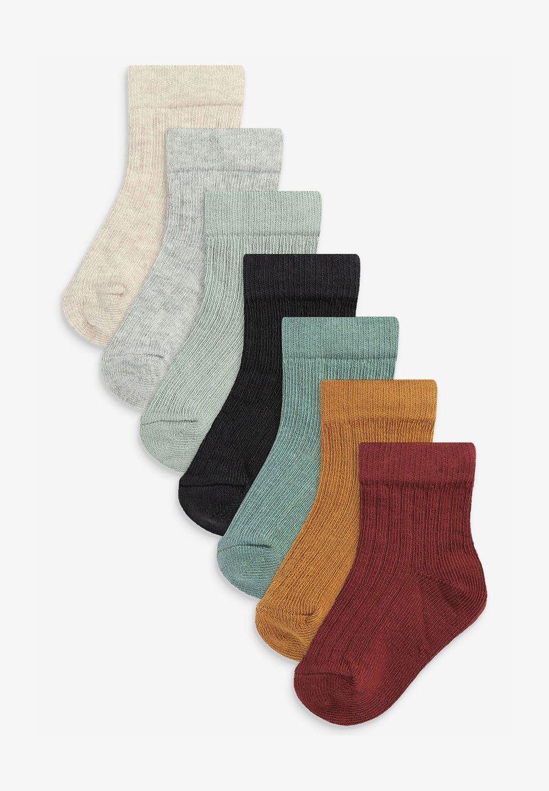 Next - 7 PACK - Socks - brown