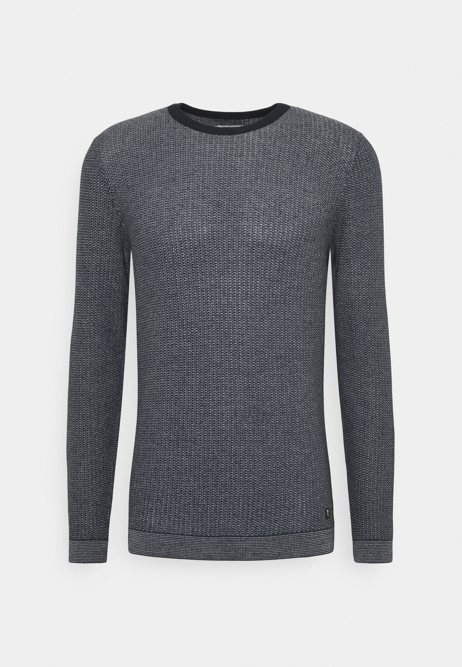 Homme ALL OVER STRUCTURED CREW NECK - Pullover