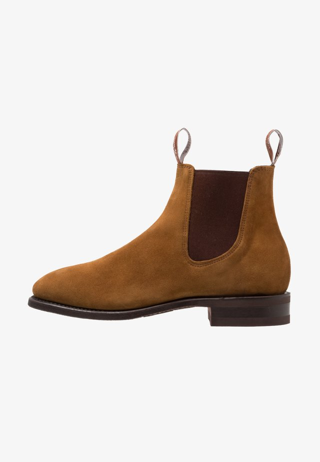 GARDENER ROUND G FIT - Classic ankle boots - tabacco