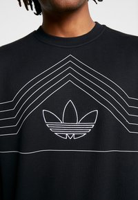 adidas Originals - RIVALRY CREW - Sweater - black/white - 6
