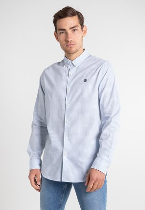 LS SUNCOOK RIVER POPLIN GINGHAM - Overhemd - skyway yd