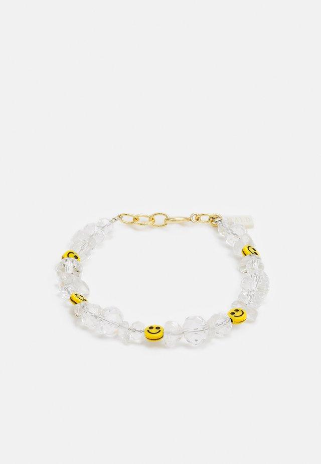 SMILIE DUDE BRACELET - Bracciale - white