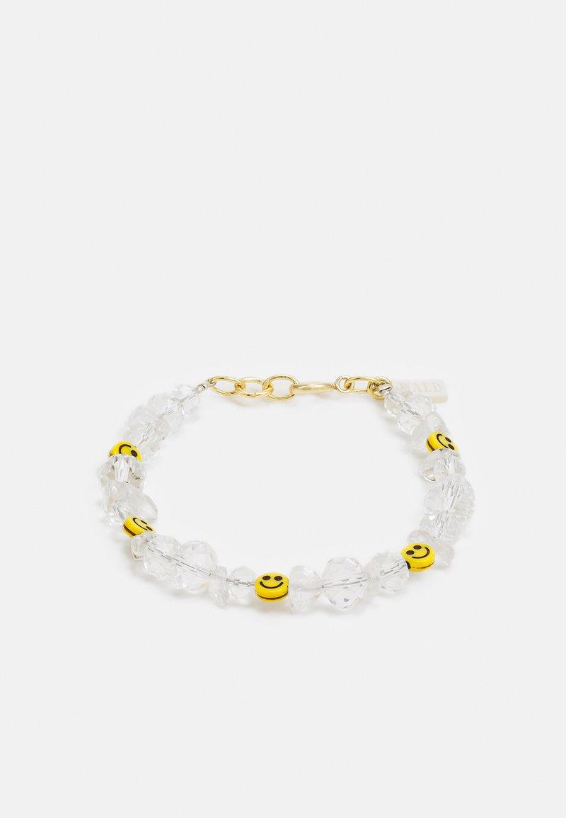 WALD - SMILIE DUDE BRACELET - Bracelet - white