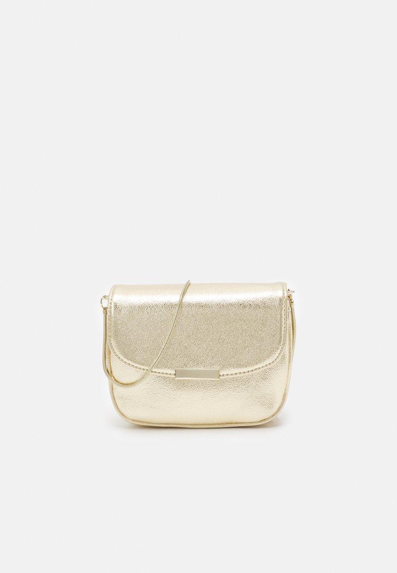 NAF NAF - Across body bag - light gold-coloured
