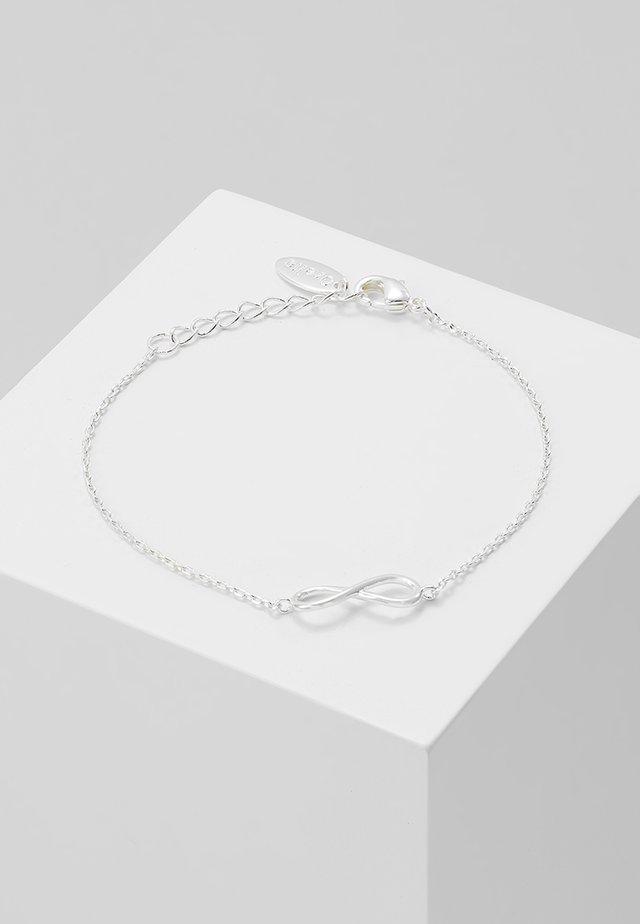 INFINITY BRACELET - Armband - silver-coloured
