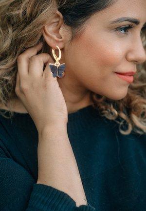 CREOLE PAPILIO - Earrings - goldfarben