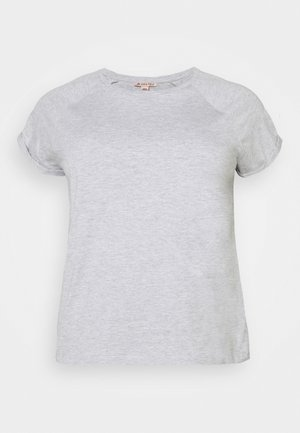 T-shirts - mottled light grey