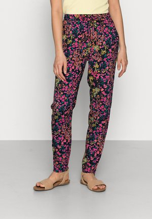 ONLNOVA LIFE - Trousers - dark blue/multi-coloured