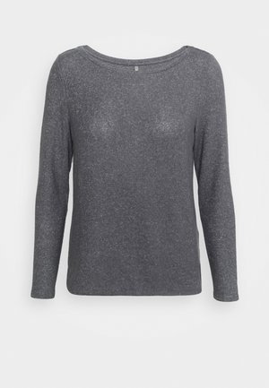 ONLKALA BOAT NECK  - Strikkegenser - medium grey melange