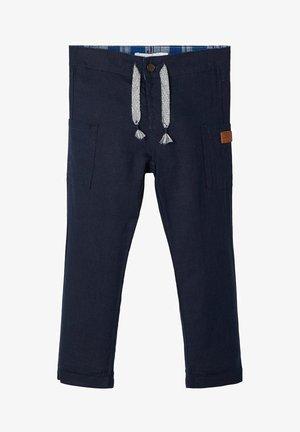 Pantalones - dark sapphire