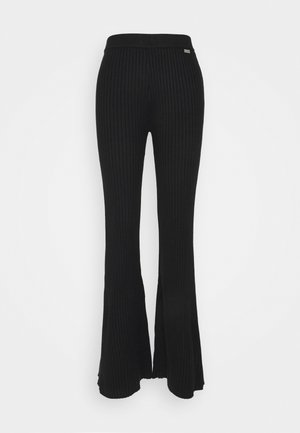 REMI PANTS - Trousers - black