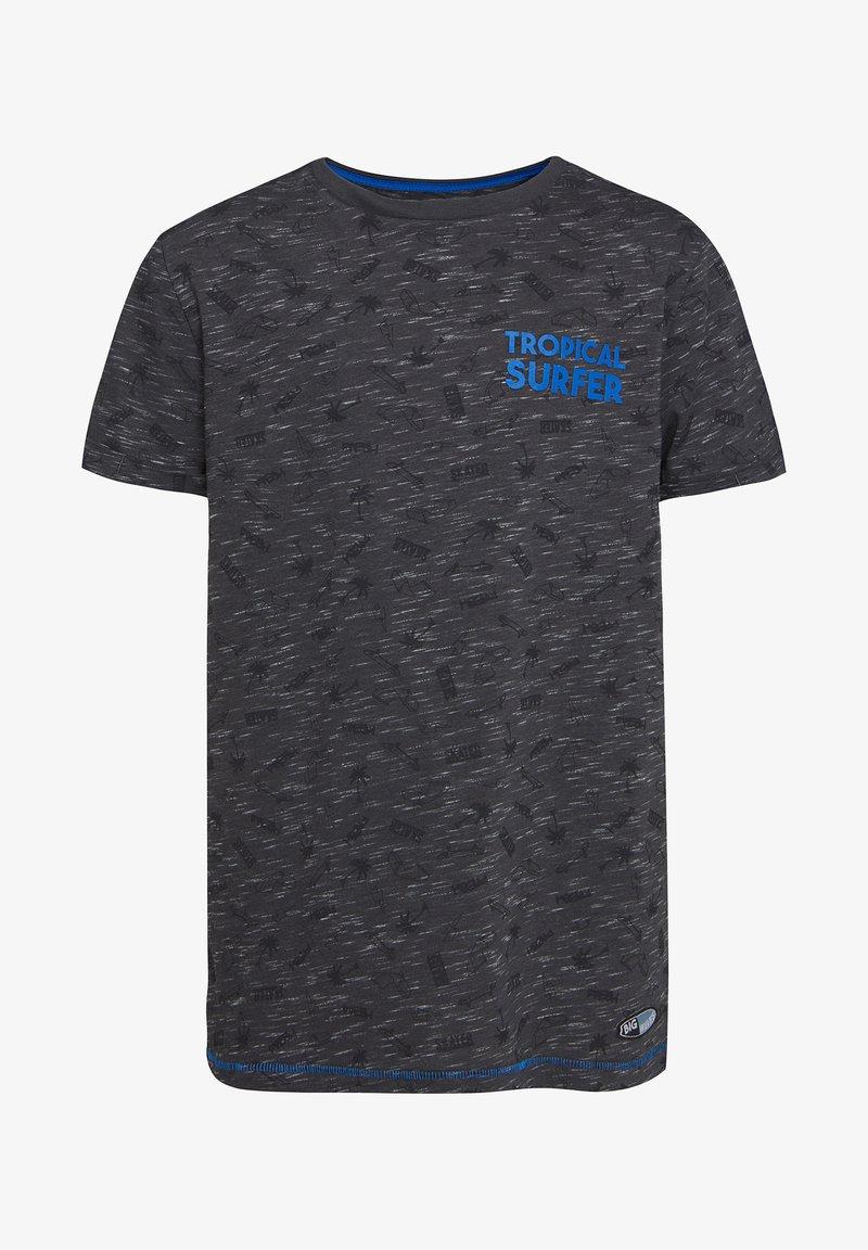 WE Fashion - Print T-shirt - blended dark grey