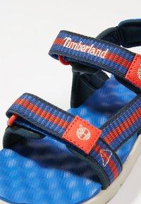 Timberland - PERKINS ROW WEBBING - Sandals - bright blue - 2