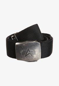 Alpha Industries - Belt - black - 2
